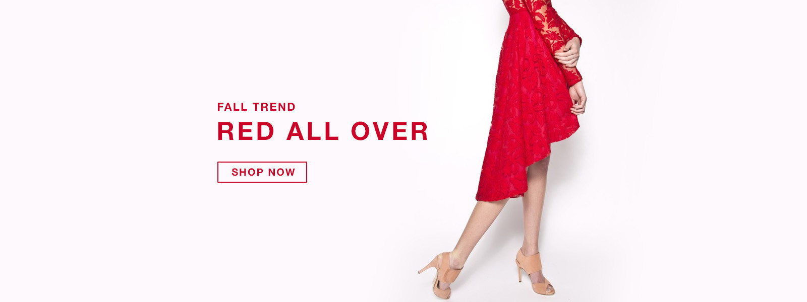 RED ALL OVER Fall Trend