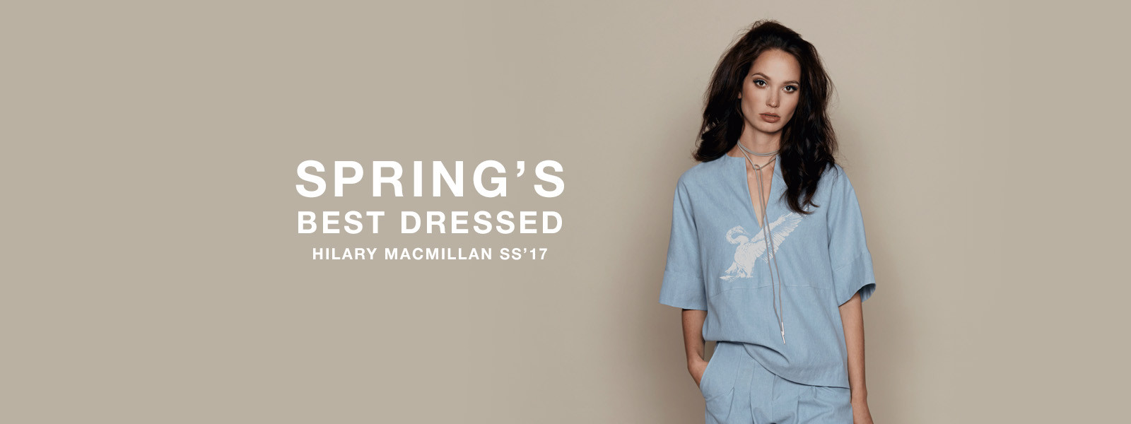 Spring's Best Dressed For Crisp Spring Days
