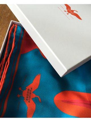 Furious Goose Noona Silk Scarf