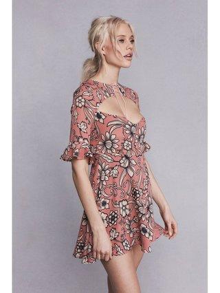 Ayla Lace Up Dress
