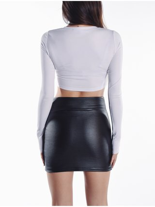 Cara Cheung Jourdan Mini Skirt - Thin Rib