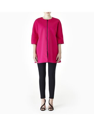 Sarah Bond Lollipop Jolly Reversible Coat Magenta