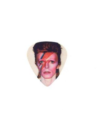 MizDragonfly David Bowie Guitar Pick Ring