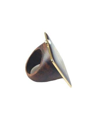 MizDragonfly Monogram Ring
