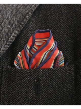 Furious Goose LOVE – Silk Pocket Square/Scarf