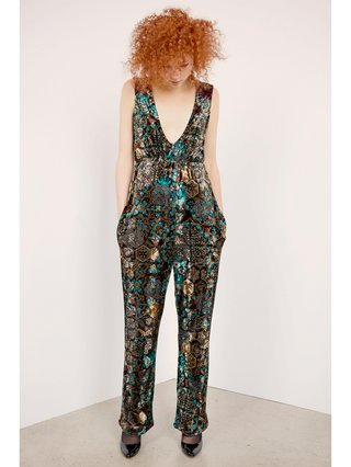 Hilary MacMillan Scoop Neck Jumpsuit