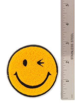 Arcade Attire Winking Smiley Pin