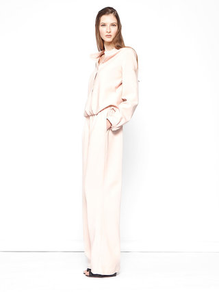 Pale Pink Wide Jumpsuit