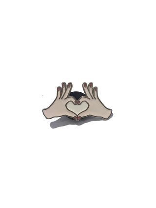 Hilary MacMillan Heart Pin