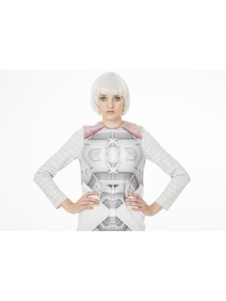 Ece Ozalp Spaceship Dress