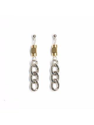 Monoxide Style Aurum Chain Earrings
