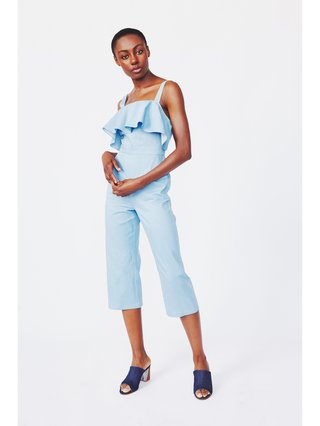 Hilary MacMillan Denim Romper