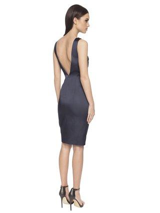 Aloura London Estelle Dress - Navy