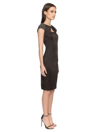 Aloura London Arlington Dress - Black
