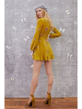 For Love & Lemons Papillon Mini Dress