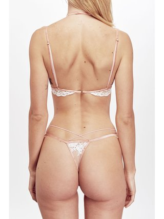 For Love & Lemons Noemi Scallop Edge Thong
