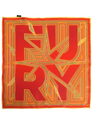 Furious Goose FURY – Silk Pocket Square/Scarf