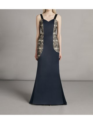 SARAH BOND Sissi Satin Lace Dress