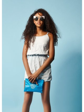 COCONAUTICAL Haggai - Denim Romper