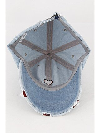 Arcade Attire Simple Heart Strapback Cap