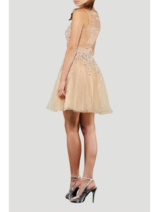 Narces Gabriella Nude Dress