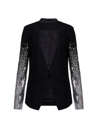 Kari C.  Sequin blazer