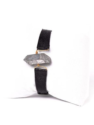Monoxide Style What Time Is It Mr. Wolf Bracelet - Titanium Quartz