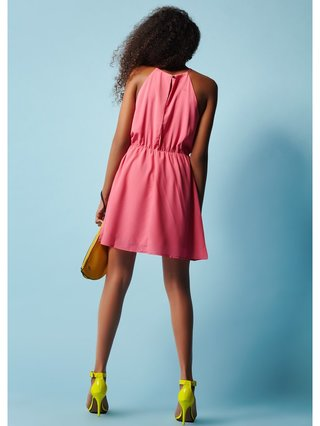 COCONAUTICAL Asher - Pink Pleated Dress