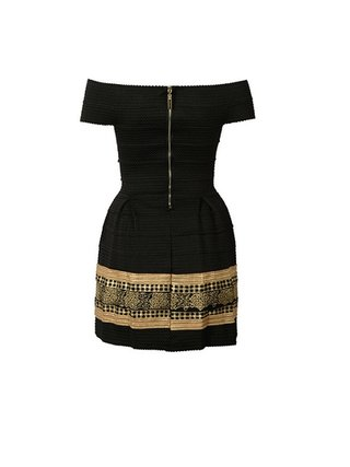 Kari C. Bandage dress