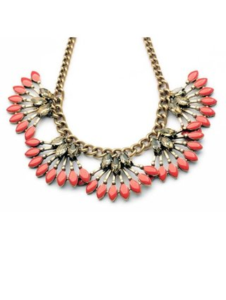 Summer Sweet Necklace Peach