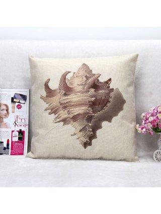 Arcade Attire Tropical Shell Cushion Cover