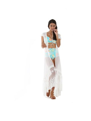 Tulle & Batiste Camelia Bralette Bikini Top Turquoise