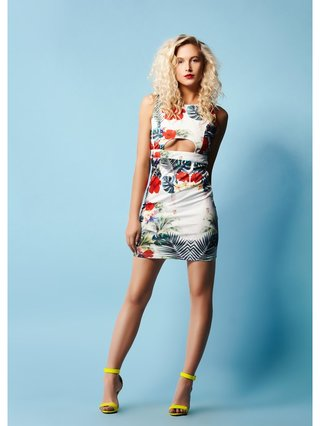 COCONAUTICAL Eden - Tropical Print Dress
