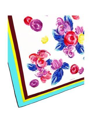 CHRITIFF Cherry Blossom Scarf (Multicolour) 70cm
