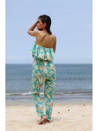 Tulle & Batiste Camelia Jumpsuit Turquoise