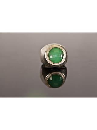 Kemi Designs Stone Cold Green Ring