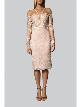Narces Lace Midi Dress