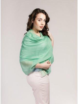 Asneh Green Lela Cashmere Scarf