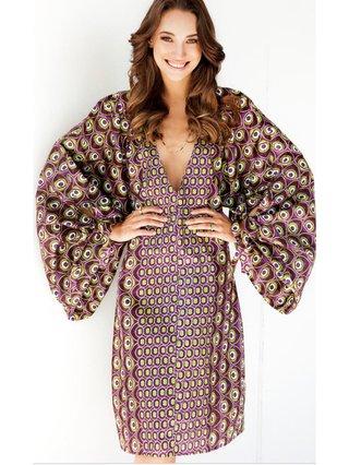 Pattern Tunic Dress