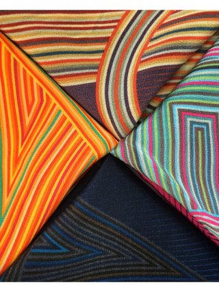 Furious Goose Four Letter Words – Silk Pocket Squares/Scarves
