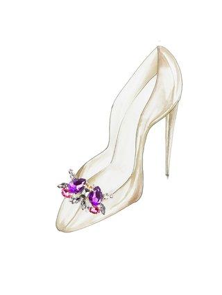 Kari C. Emperor Shoe Bijoux clips