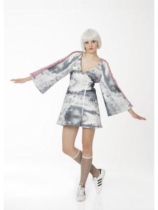 Ece Ozalp Fluffy Kimono