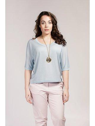Asneh Ballade Blue Gretha Batwing Top