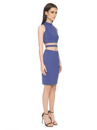 Aloura London Kendal Dress - Royal Blue