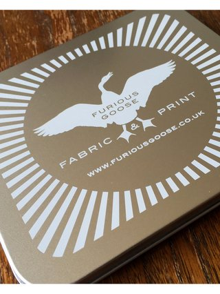 Furious Goose PAIN – Silk Pocket Square/Scarf
