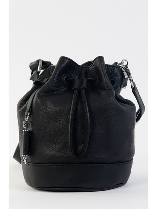 Dafney Mini Bucket Bag Black