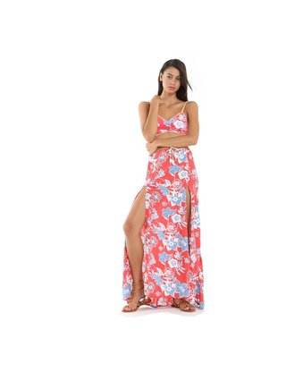 Tulle & Batiste Camelia Maxi Skirt Red