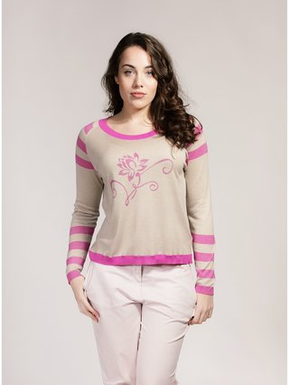 Asneh Lotus Sweater in Silk Cashmere