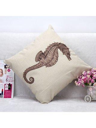 Arcade Attire Tropical Seahorse Cushion Cover