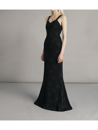 SARAH BOND Suppé Sequin Dress Black